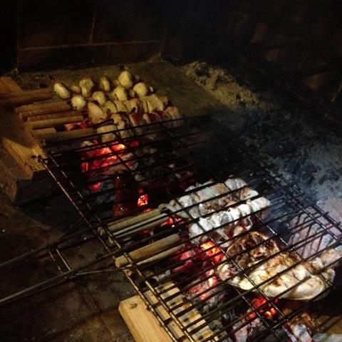 Ñami, carne a la barbacoa Asturias