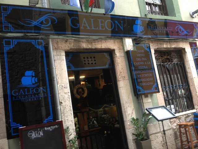Galeón, un sitio recomendable para comer en Llanes, Asturias