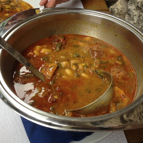 Una sopa consistente Asturias