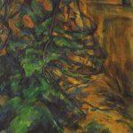 Paul Cézanne. Rocas y ramas en Bibémus, c. 1895‐1904