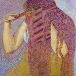 Henri-Edmond Cross. La Cabellera. Hacia 1892