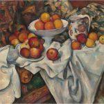 Paul Cézanne. Manzanas y naranjas. Hacia 1899
