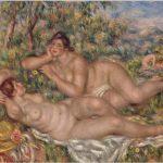 August Renoir. Las bañistas. Entre 1918 y 1919