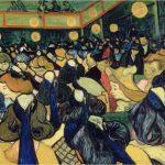 Van Gogh. El Salón de baile en Arlés. 1888