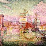 Paul Signac. La entrada del puerto de Marsella. 1911.