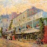 Van Gogh. El Restaurante de la Sirène en Asnières. 1887