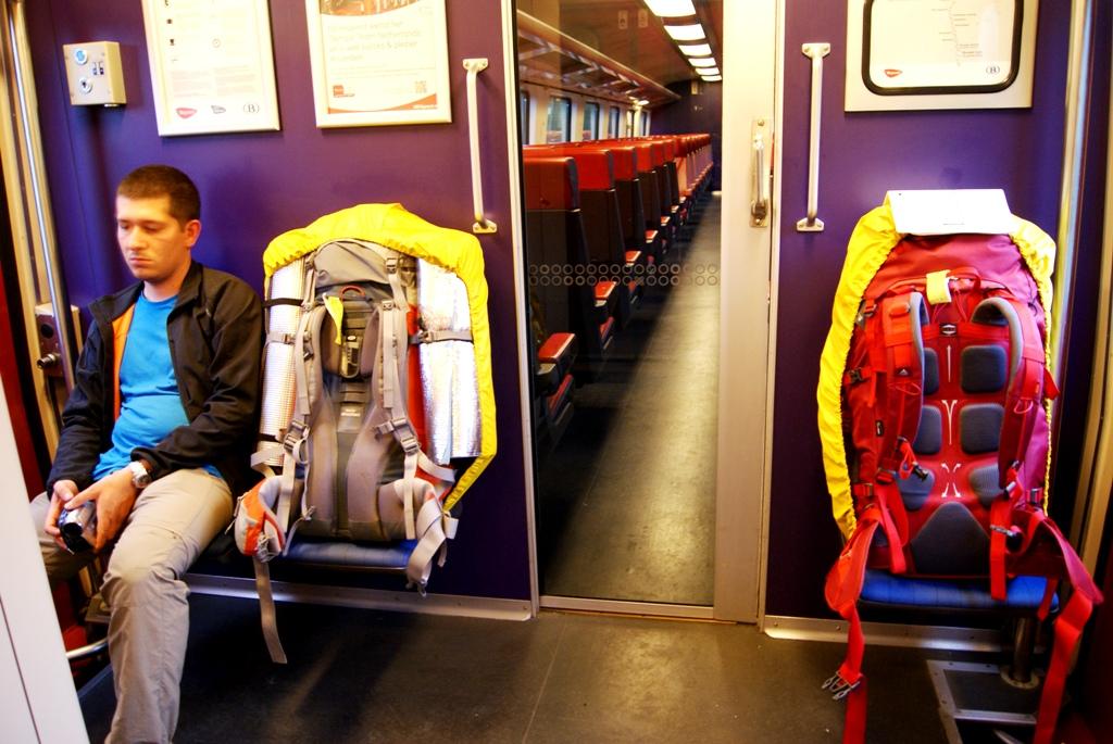 Viaje en tren... antes de bajar
