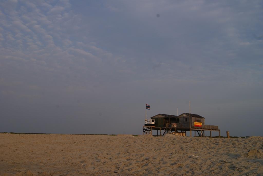 la playa de la isla de Schiermonnikoog en Holanda