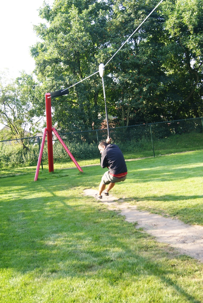 juegos de niños en la isla de Schiermonnikoog Holanda