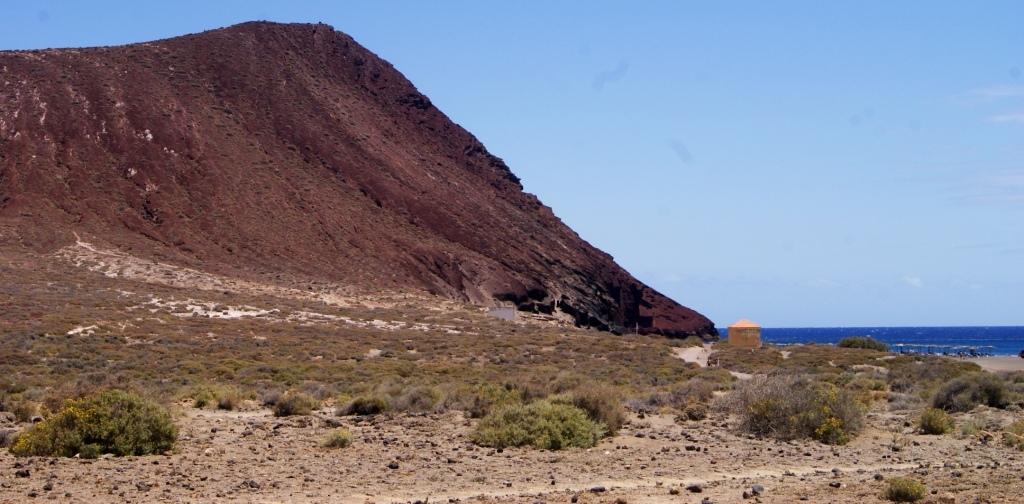 Montaña Roja rutas tenerife