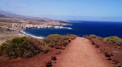 Ascensión express a la Montaña Roja. Tenerife