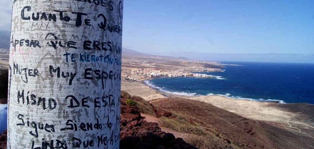 Tenerife montañas el Médano