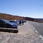 Así es el parking de la Montaña Blanca