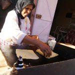 Así hacen los pancakes: una mujer en la calle - y son los más ricos!!!