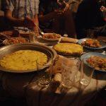 La cena internacional