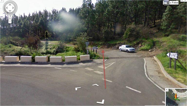 salida y parking