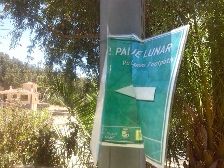 paisaje lunar Tenerife