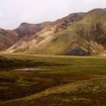 Landmannalaugar, Iceland, Islandia, senderismo