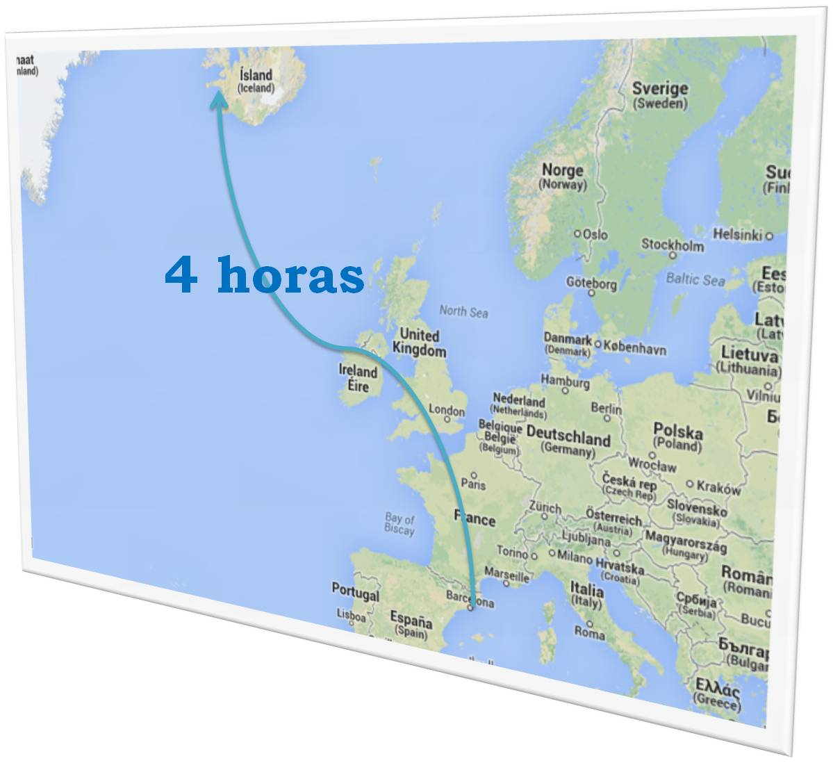 Islandia en el mapa  f6510ba5e5ca