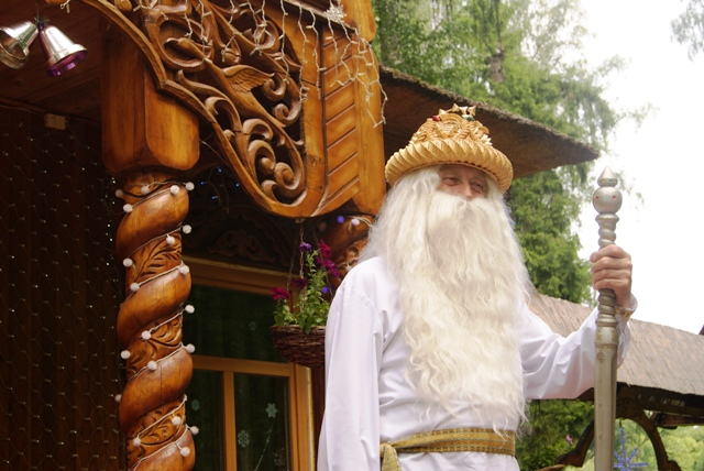 Papá Noel, Belovezhskaya Pushcha, Brest, Bielorrusia, Bielorussia, parques nacionales, naturaleza