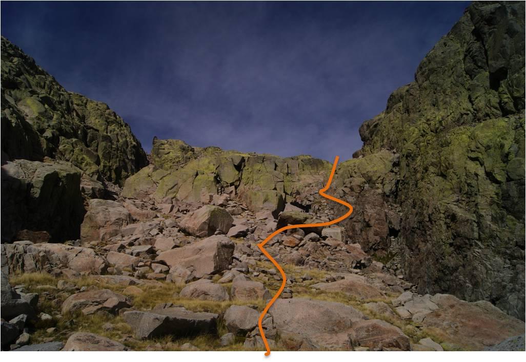 Almanzor, Castilla y León, senderismo, rutas, Alta montaña