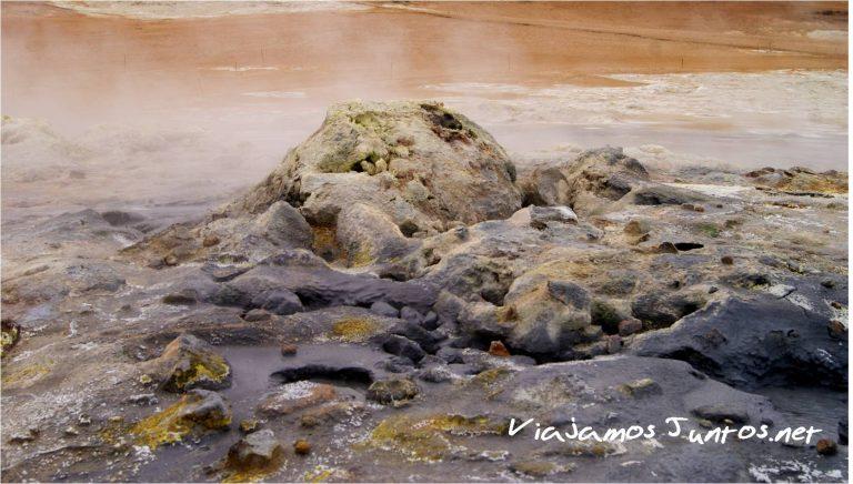 Hverir, Lago Myvatn, Islandia, Iceland, viajar por libre, naturaleza