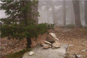 Paseando con los Fantasmas por Siete Picos. Navacerrada
