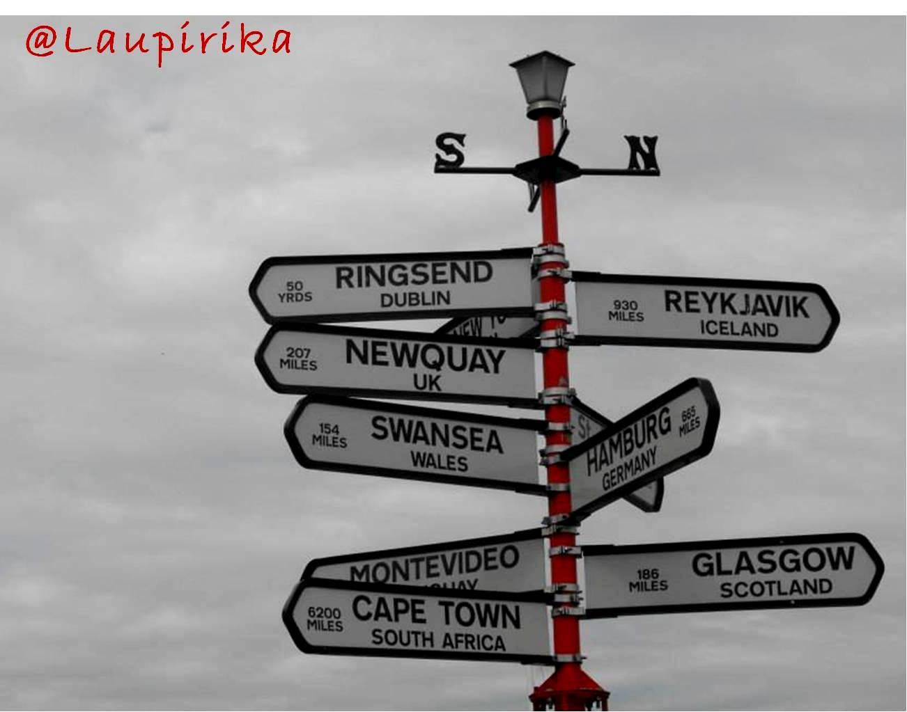 Entrevistas, viaje, viajeros, Irlanda, consejos, redes sociales, twitter, movil