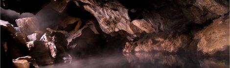 grjotagja, myvatn, cueva, cave, islandia, iceland, hot spring, aguas termales, piscinas termales