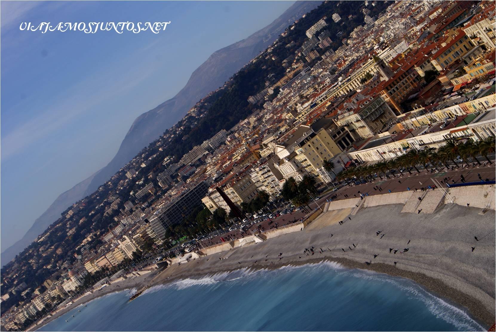 Niza, Casta Azúl, Provenza, Francia, playa, mar, Navidad, paseos