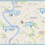 Roma, plano, mapa, Italia