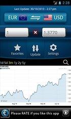 Aplicación para ver el cambio de moneta: Conversor