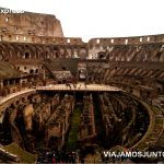 Roma. Italia, viajar por libre, Coliseo