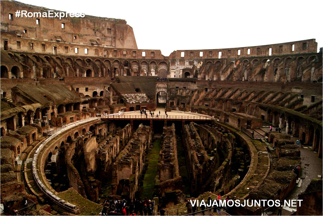 Roma. Italia, viajar por libre, Coliseo