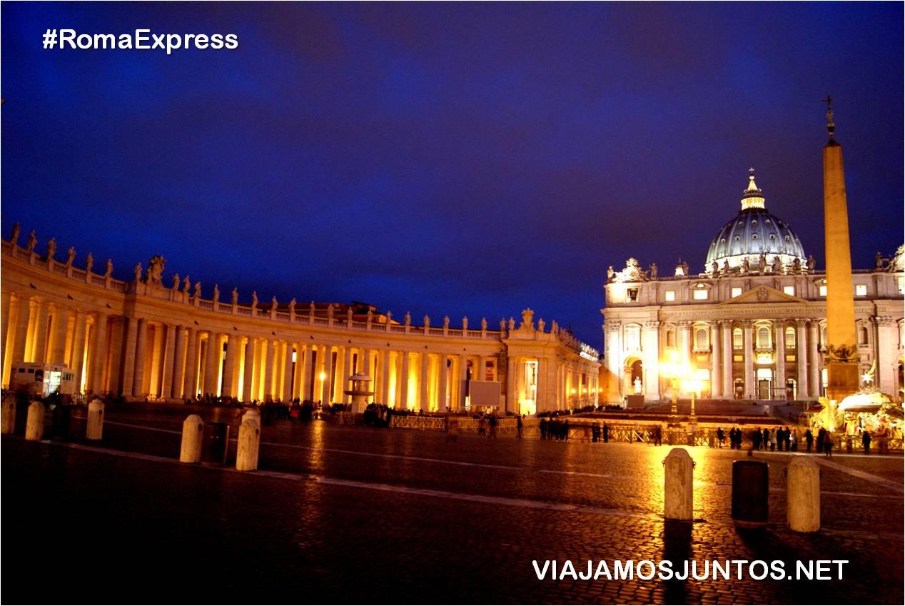 Roma. Italia, viajar por libre, Vaticano, San Pietro, San Pedro