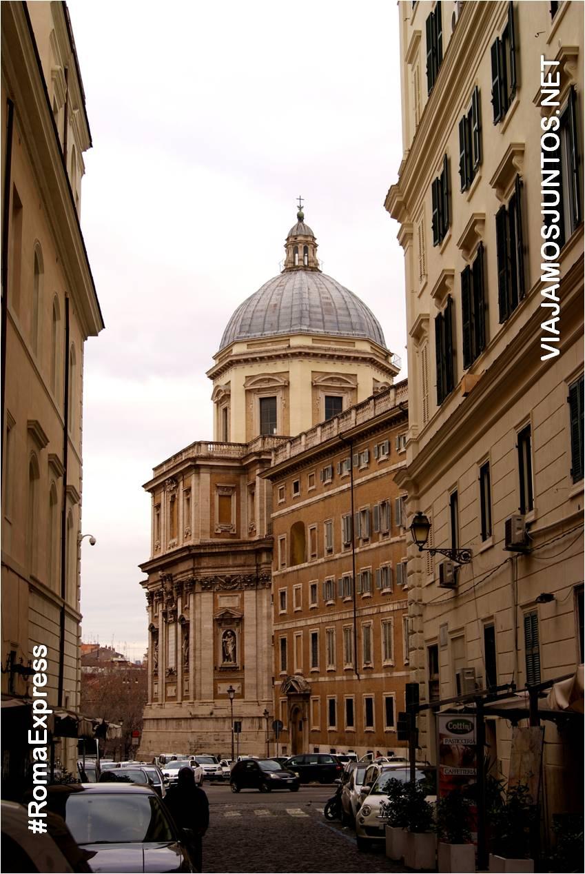 Roma. Italia, viajar por libre, Santa María Maggiore, María la Mayor, María de las Nieves
