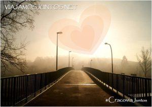 Amor, san valentin, cracovia, polonia, poland, niebla