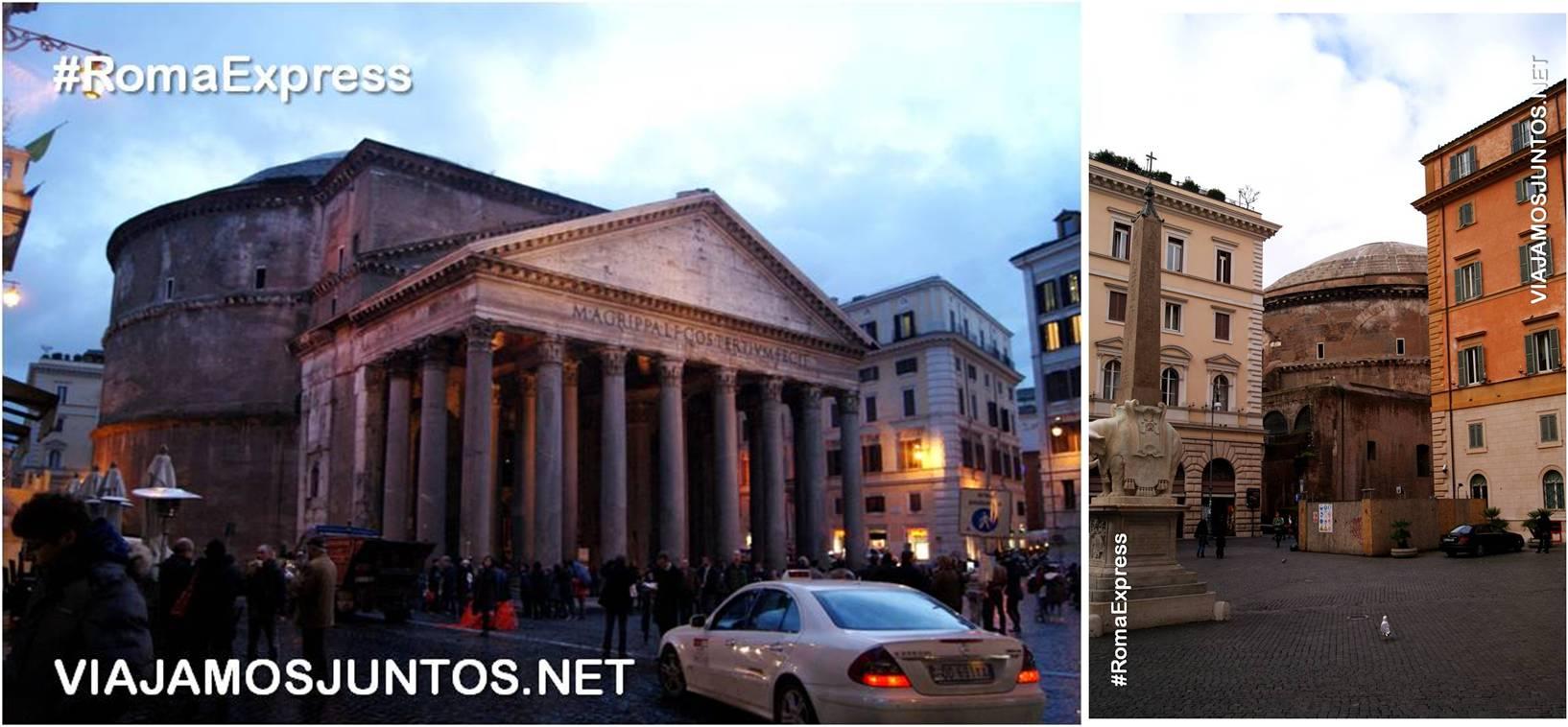 Roma. Italia, viajar por libre, Panteón