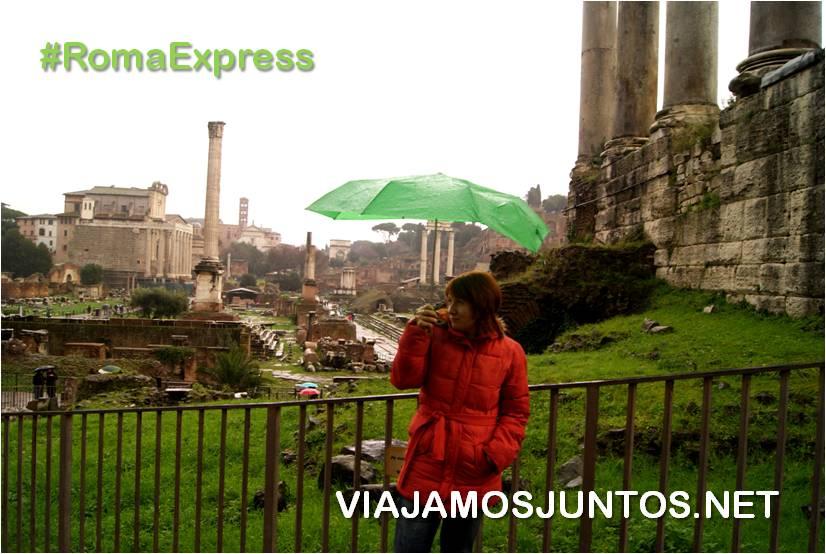 Roma, Italia, viajar por libre, fuentes, bernini, piazza navona, Foro, lluvia