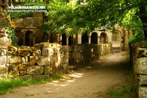 Ruta del Monasterio de Santa Cristina de Ribas de Sil, Galicia. PR-G 98