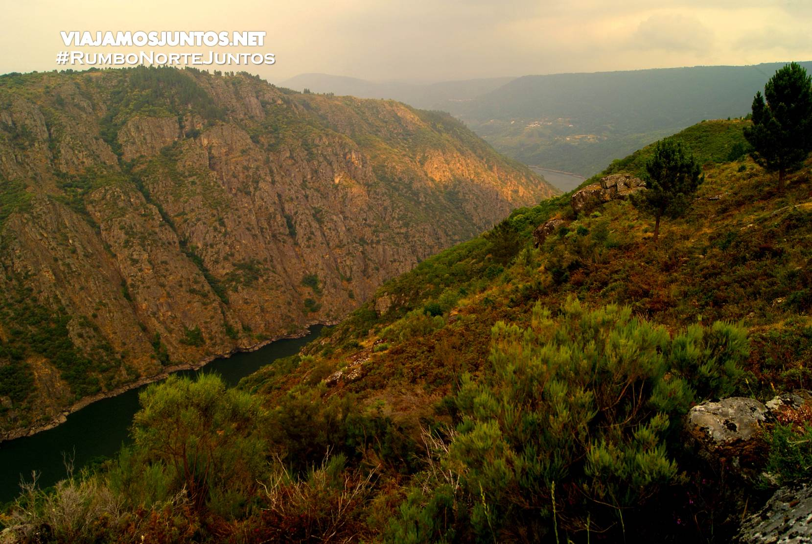 Vistas al Cañón del Río Sil