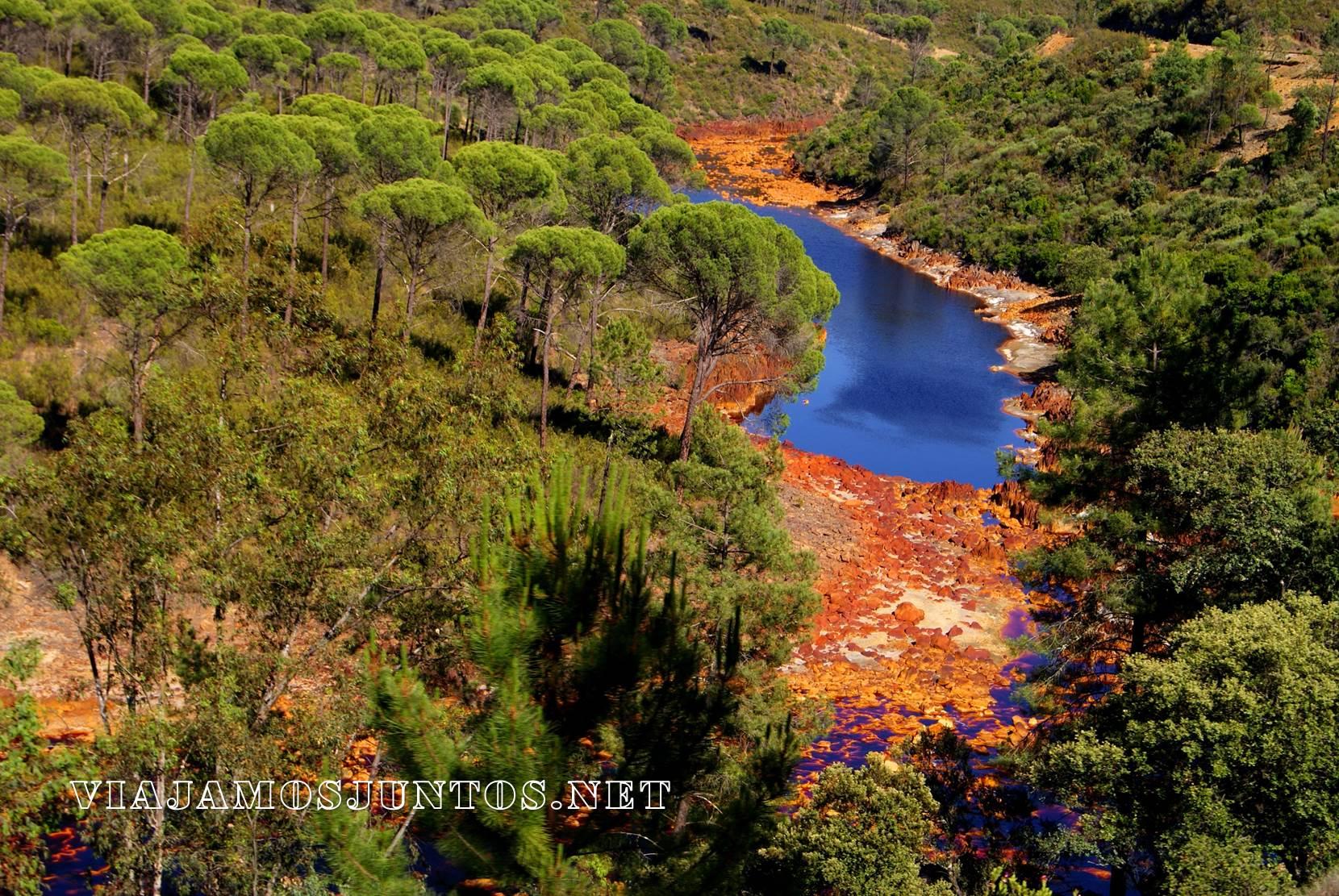 Riotinto, Río Tinto, minas, parque natural, parque nacional, huelva, andalucia, senderismo, rutas