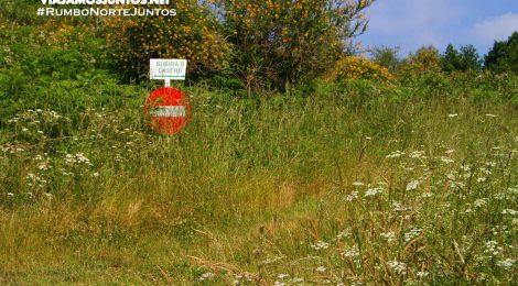 Acceso peatonal a Castromao