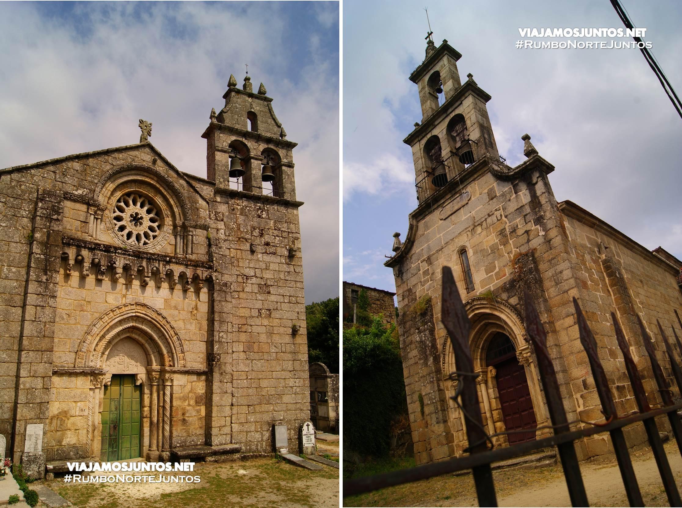 Iglesias de Lebosende y Serantes