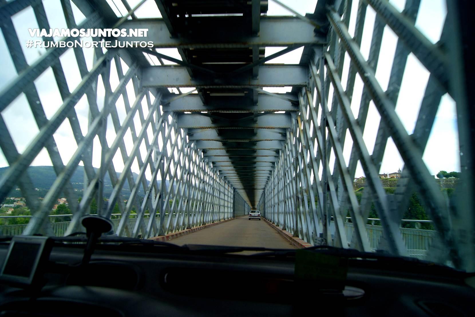 El puente internacional de Tui