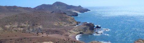 Cala Carbón desde Punta Colorada