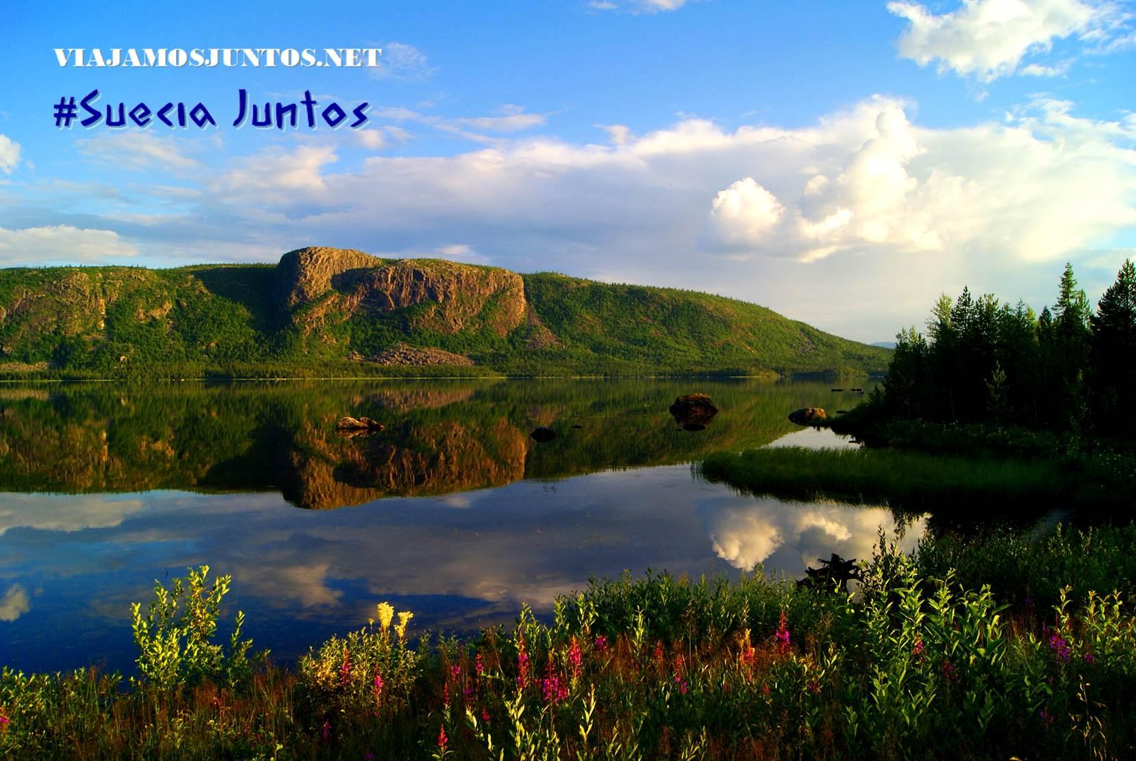 Suecia, naturaleza, viajar por libre, vistas, paisajes, Laponia Sueca, inspiración, información práctica, tips, consejos, viajar por libre, alojamiento, diario, viajar en coche, Kvikkjokk, sami, rutas, senderismo