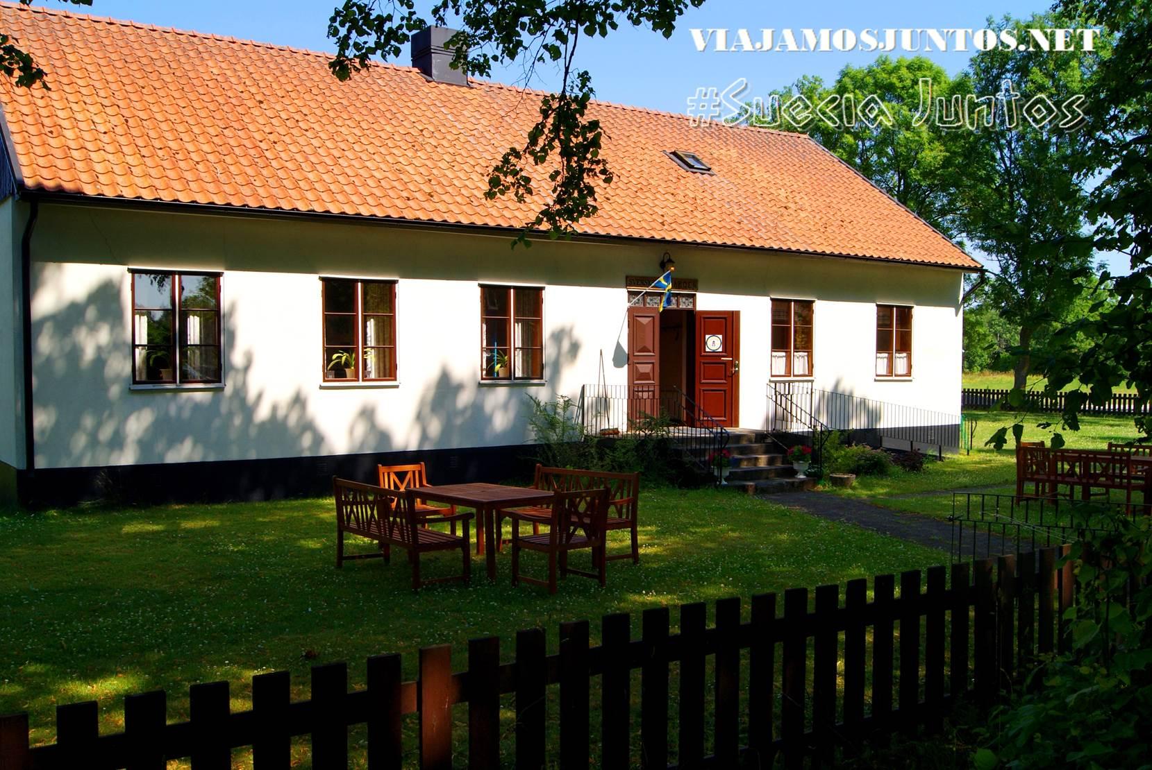 El museo de los emigrantes suecos en Ucrania, isla de Gotland, Suecia