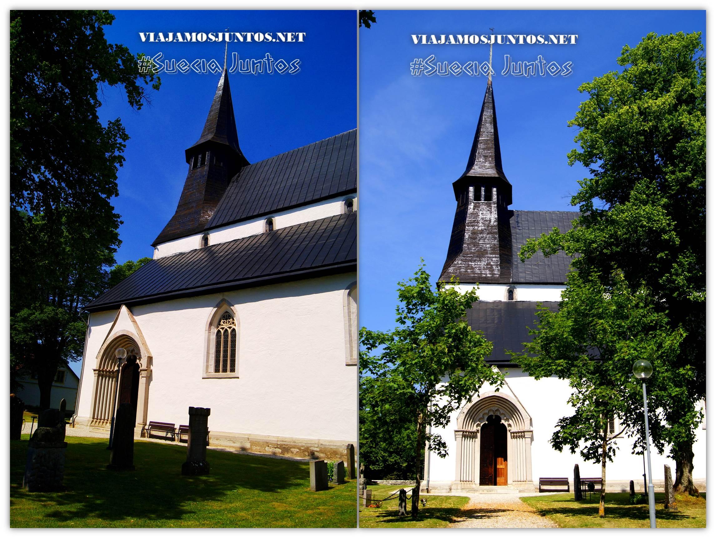 Iglesia de Roma, isla de Gotland. Suecia