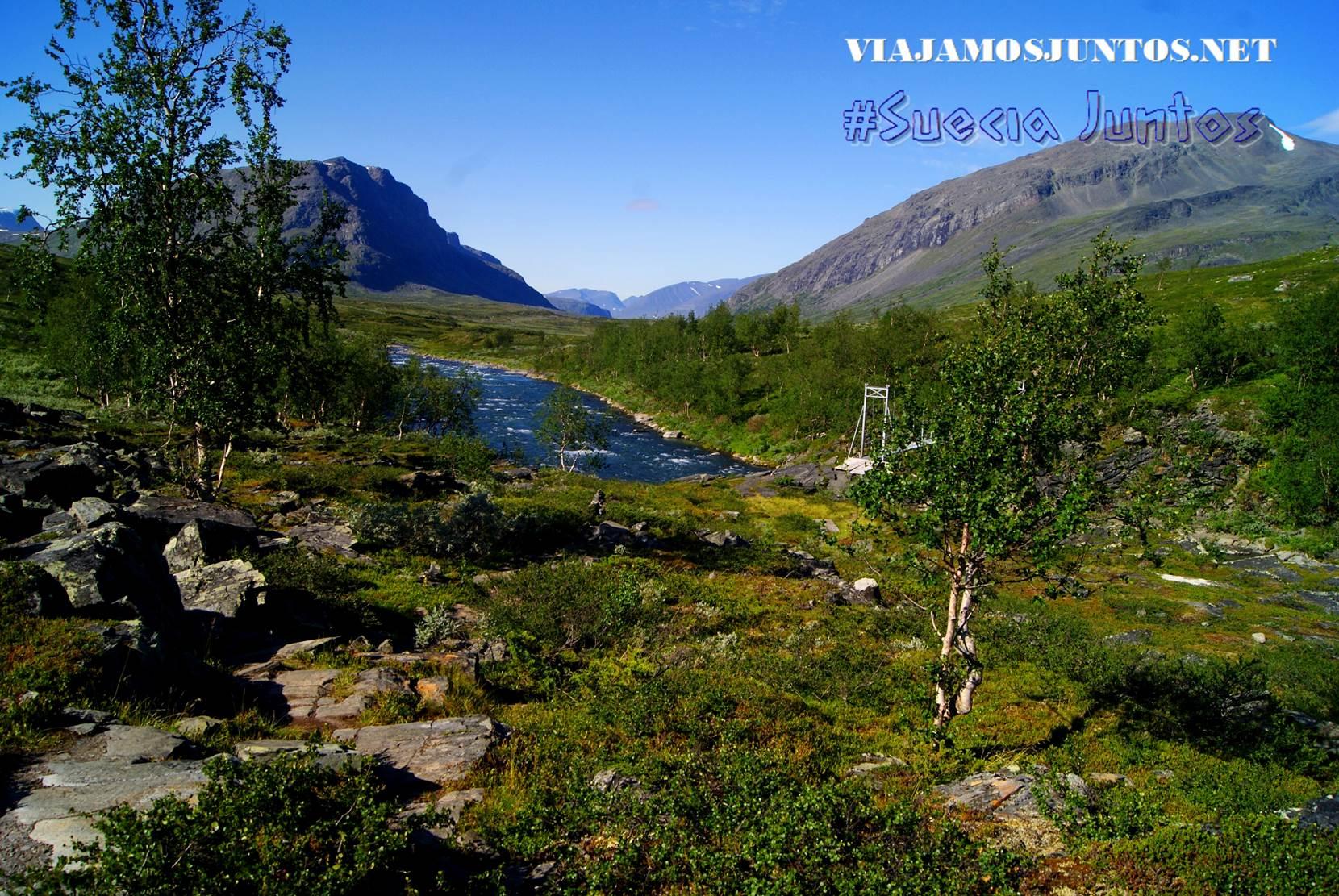 Para inspiraros a seguir leyendo ;) Paisajes bellos de Kungsleden, Suecia